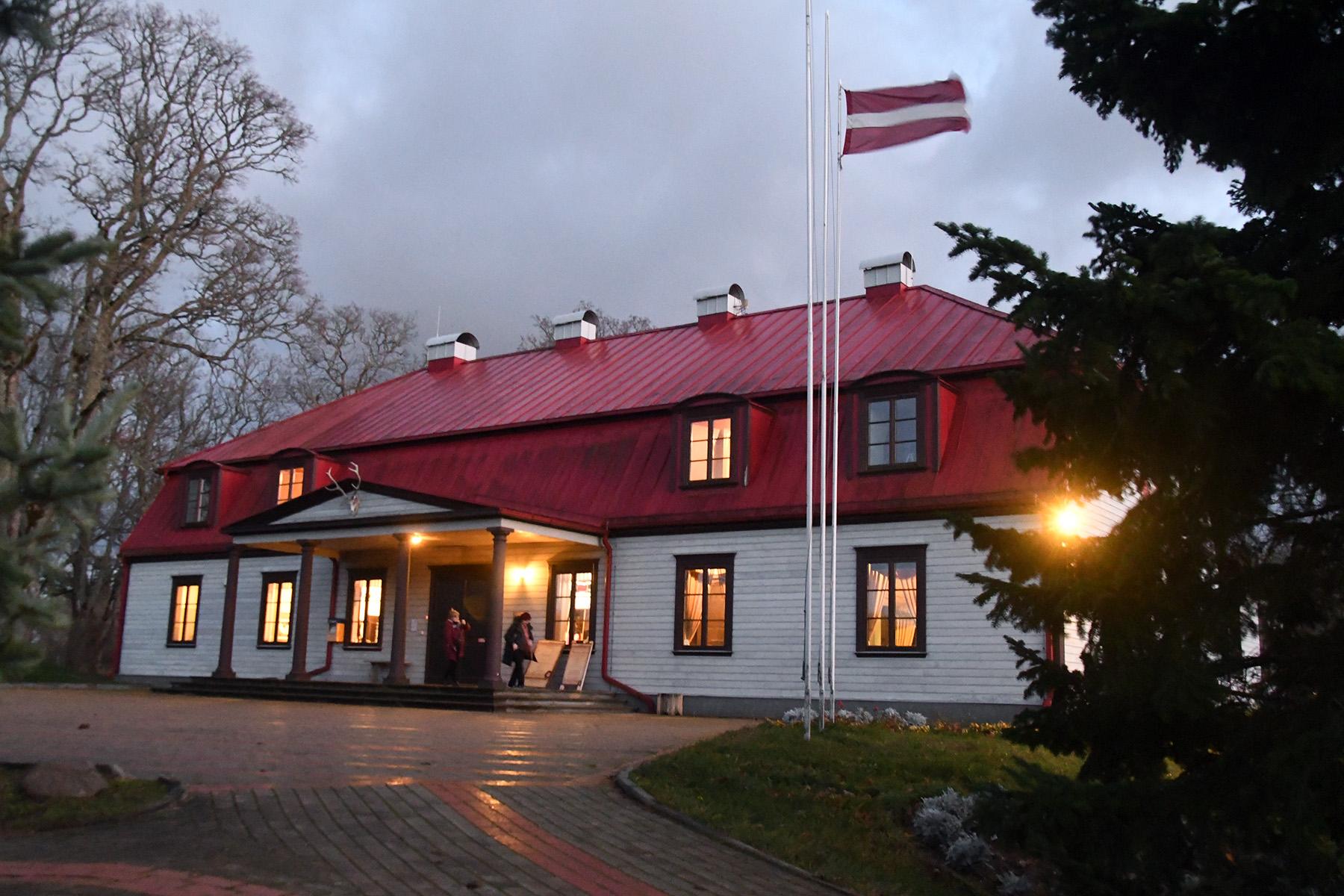 Münchhauseni muuseum Dunte mõisas. Fotod: Urmas Saard / Külauudised