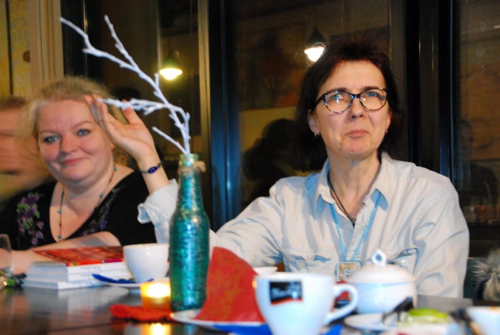 Margit Peterson ja Helle Toomingas Foto Urmas Saard