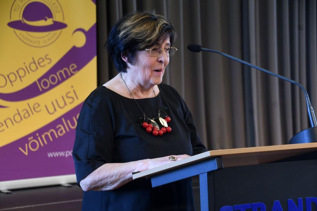 Mari Suurväli, TÜ Pärnu kolledži Väärikate ülikooli projektijuht. Foto Urmas Saard