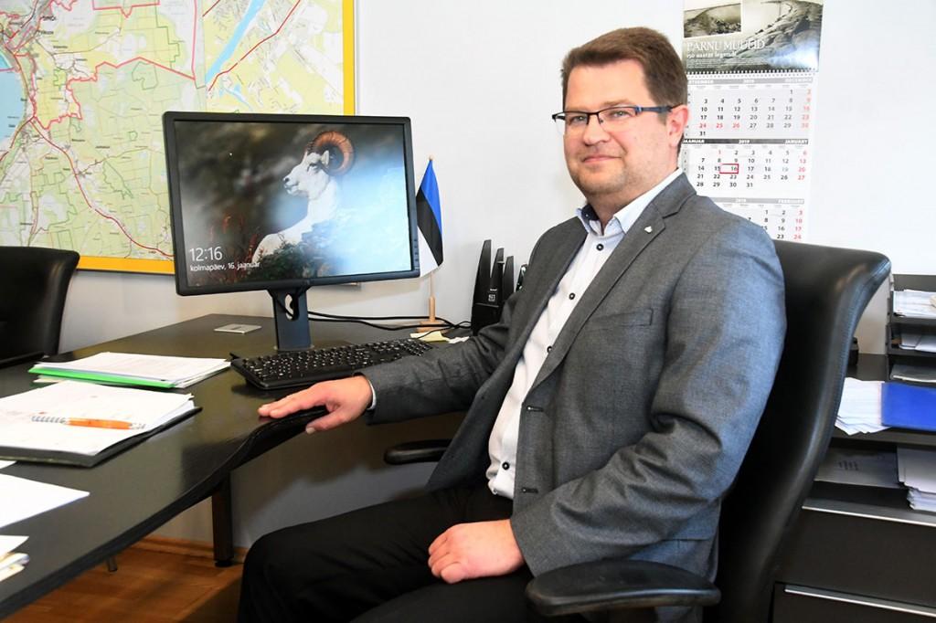 Marko Šorin, Pärnu abilinnapea. Foto Urmas Saard