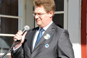 Marko Šorin, Sindi linnapea Foto Urmas Saard