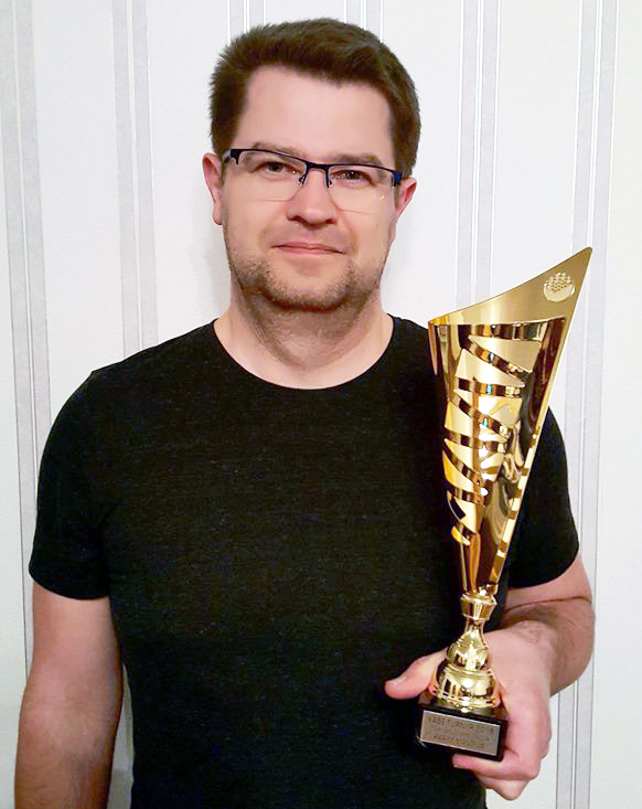 Marko Šorin, individuaalse välkturniiri võitja Foto erakogu