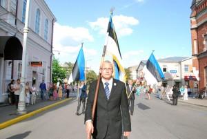 Meenutades lipu päeva tähistamist Pärnus aastal 2014 Foto Urmas Saard