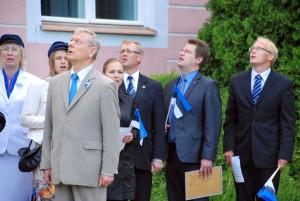 Meenutus Kuberneri aiast eelmise aasta 4 juunil Foto Urmas Saard