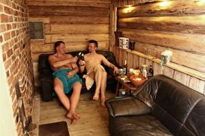 Külalistemaja Mesi Tare saun Varnjas. Foto: Herling Jürimäe