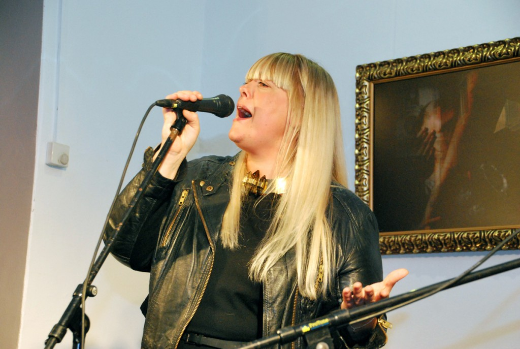 Methe Danefeldt, Taani jazzmuusik Foto Urmas Saard