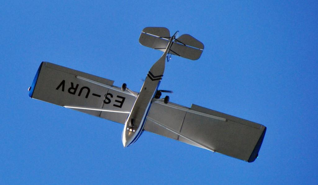 Metsloomade marutaudivaktsiini külvatakse õhust väikelennukitega Foto Urmas Saard