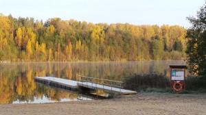 Mooste järve paadisild.