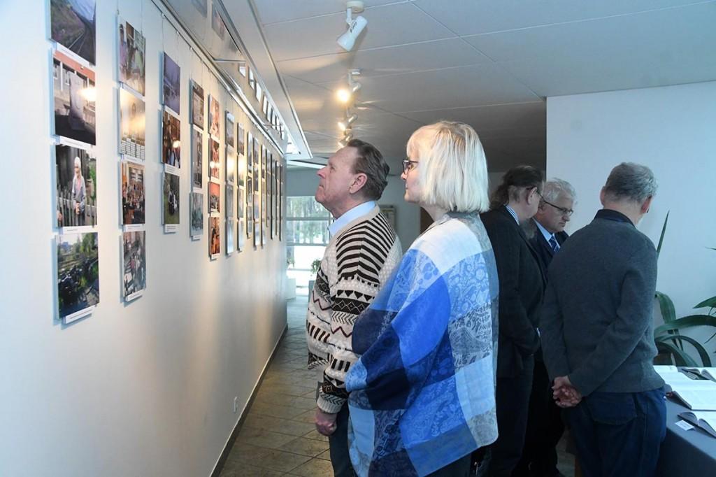 Näitus Hõimurahvaste aeg Agape keskuses. Foto Urmas Saard