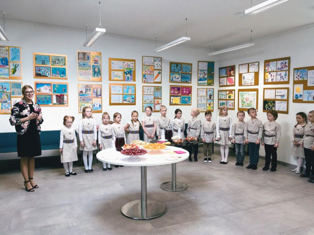 Näituse avamine Nõmme majas Foto Jukko Nooni