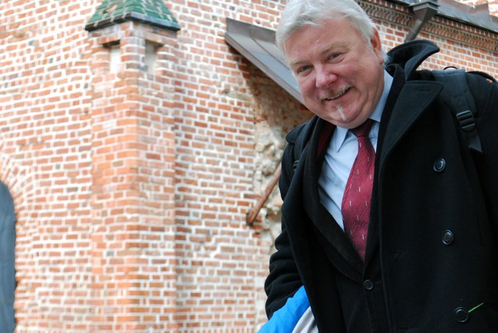 Näituse eestipoolne koostaja on Eesti Muinsuskaitse Seltsi esimees Peep Pillak Foto Urmas Saard