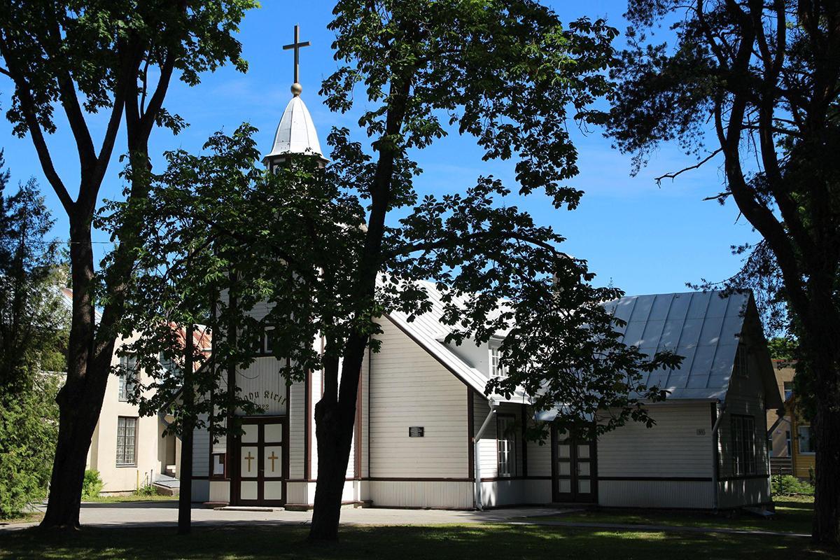 Nõmme Rahu kirik. Foto Jukko Nooni