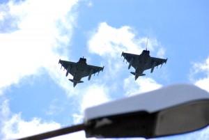 NATO hävitajad madallennul Foto Urmas Saard