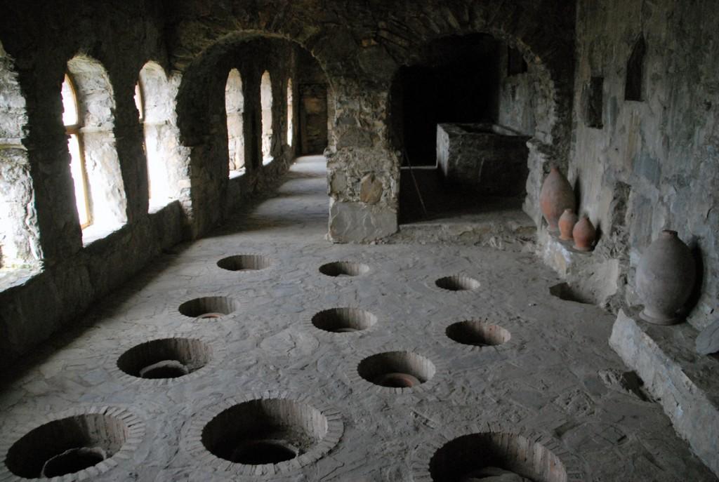 Nekresi kloostri veinihoidla Foto Urmas Saard
