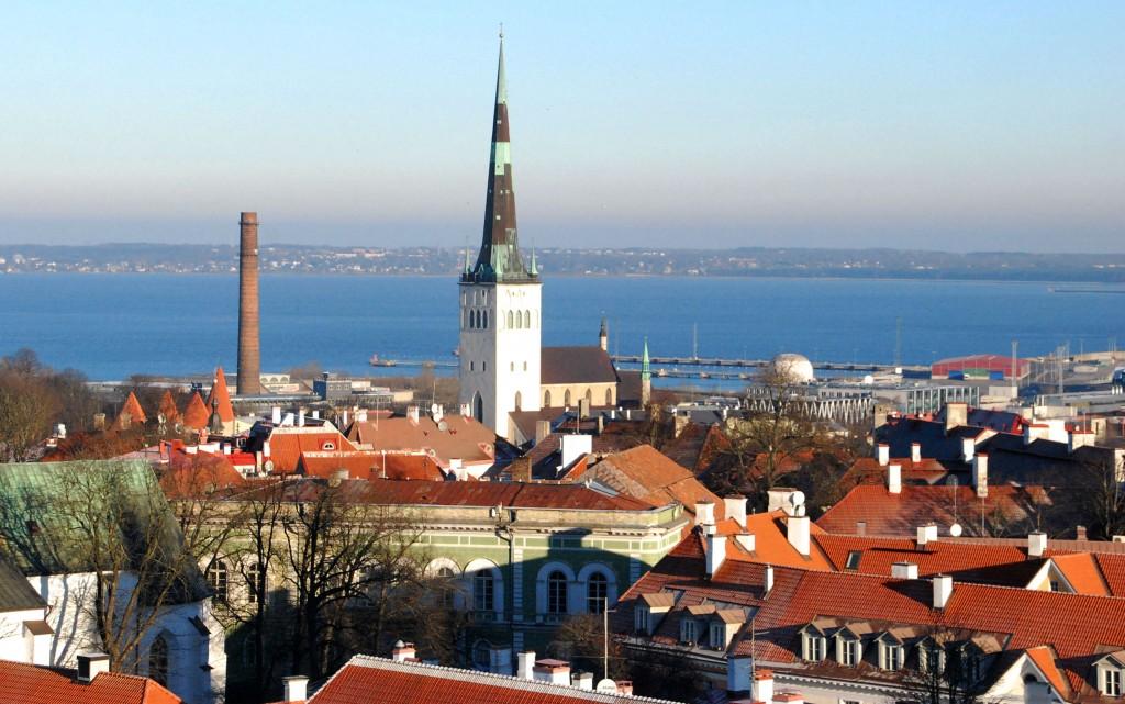Oleviste on 123,7 meetriga Baltimaade kõrgeim kirik, mis olevat väidetavalt olnud aastatel 1549–1625 maailma kõrgeim ehitis. Foto: Urmas Saard