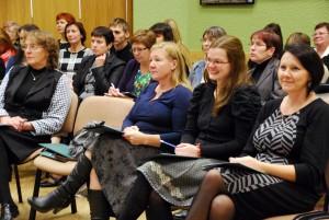 Osalejad Paikuse esimesel hariduskonverentsil Foto Urmas Saard