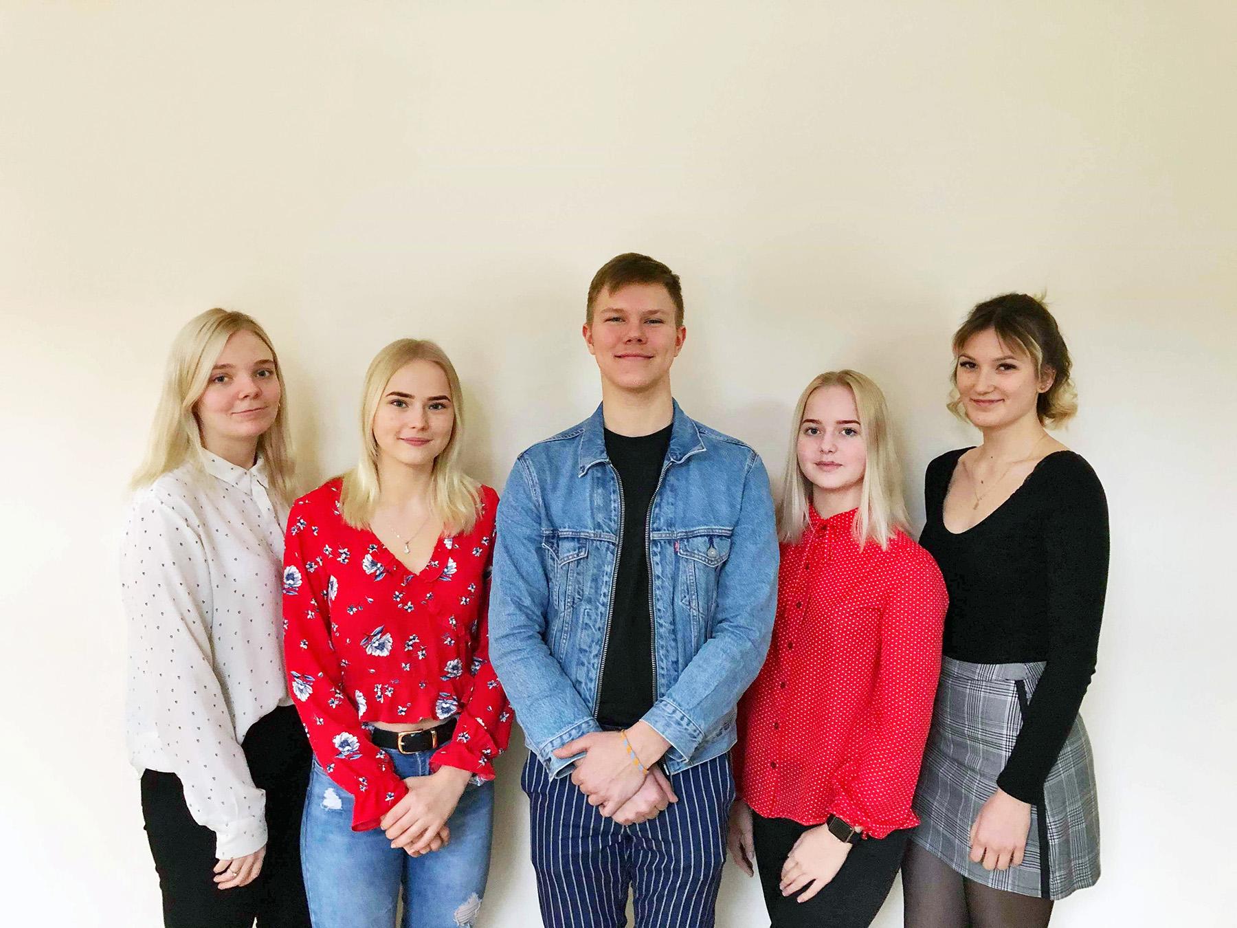 Pärnu Ühisgümnaasiumi õpilasfirma Kemihaka. Foto: Kemihaka