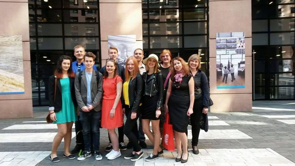 Pärnu Ühsigümnaasiumi esindus Euroopa Parlamendis