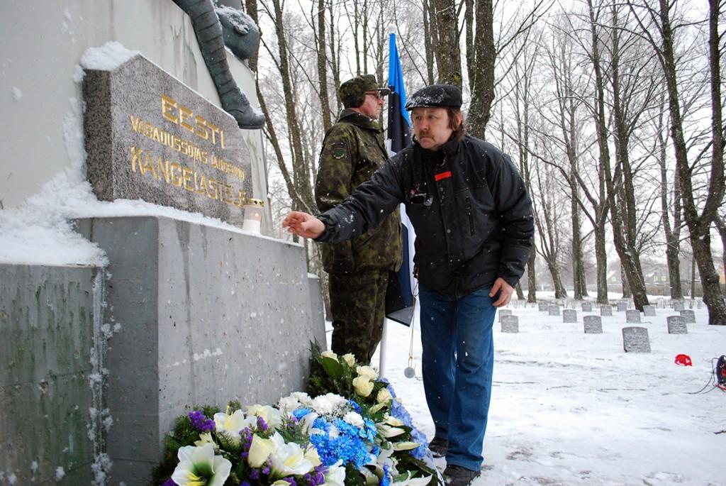Pärnu Alevi kalmistul Vabadussõjas langenute mälestuseks Foto Urmas Saard