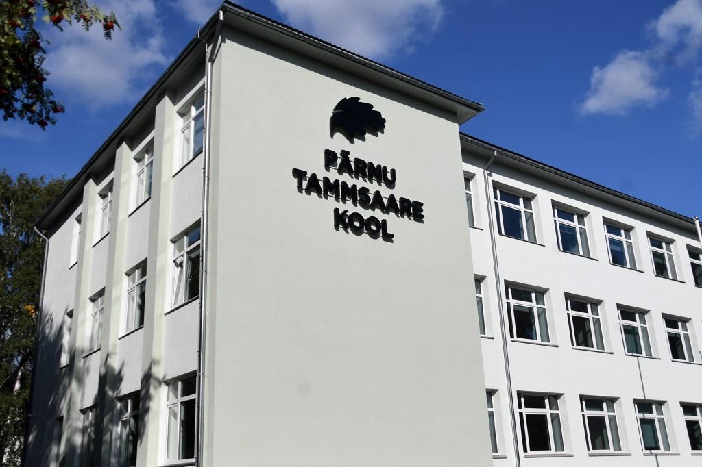 Pärnu Tammsaare kool. Foto Urmas Saard