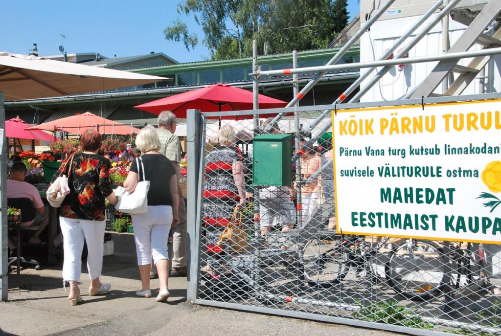 Pärnu Vana turg Foto Urmas Saard