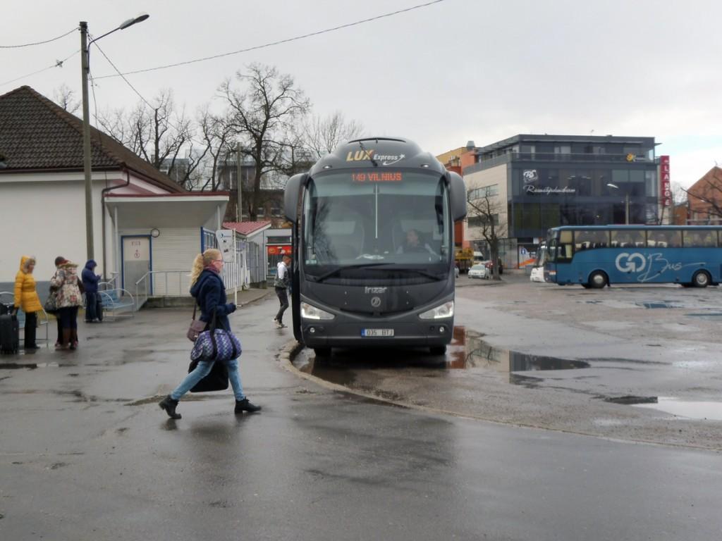 Pärnu bussijaam Foto Urmas Saard