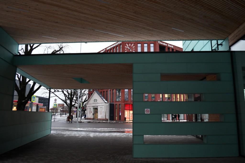 Pärnu bussijaam vahetult enne sõbrapäeva Foto Urmas Saard