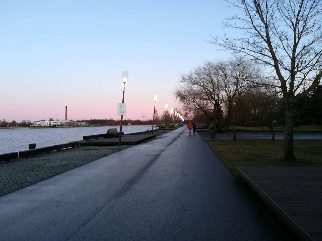 Pärnu jõe vasakkalda tervisespordirada ehk Jaansoni rada. Foto: Urmas Saard