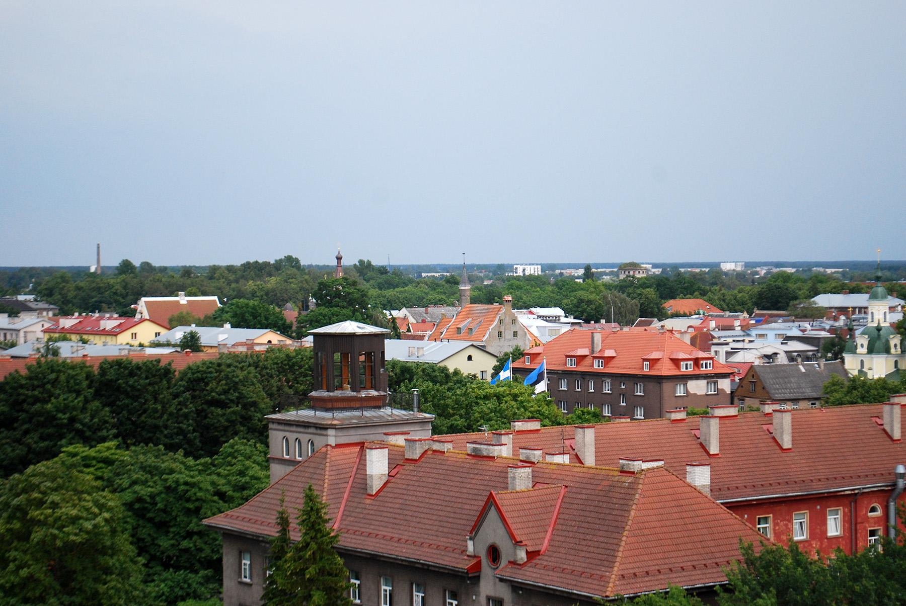 Pärnu kesklinn. Foto: Urmas Saard /  Külauudised