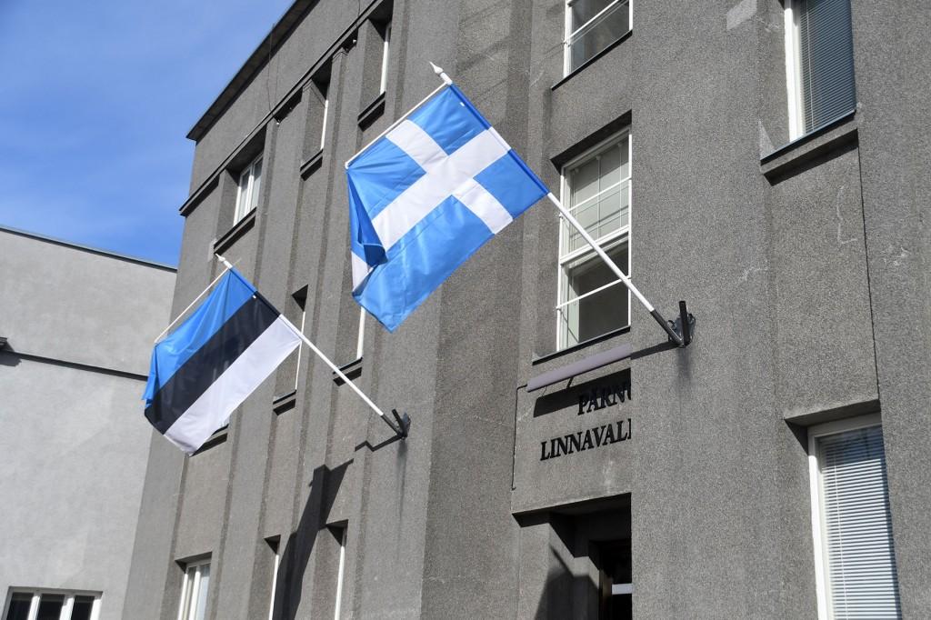 Pärnu linnavalitsuse hoone. Foto Urmas Saard