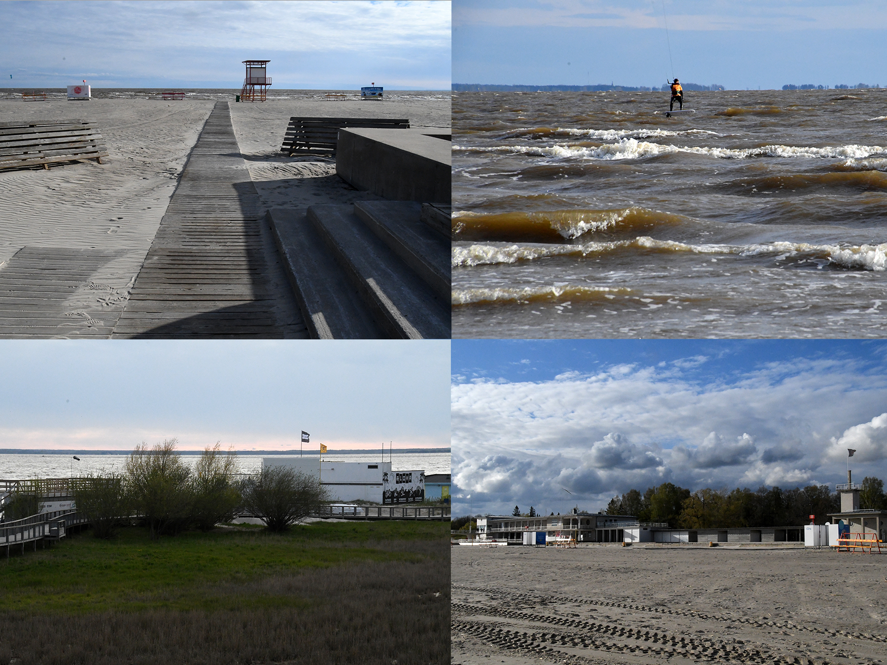 Pärnu rand. Foto: Urmas Saard /  Külauudised