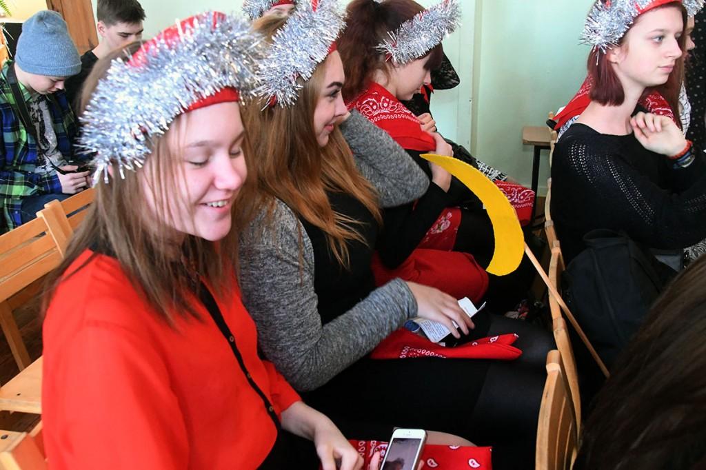 Pärnumaa 15. vene keele päev Sindi gümnaasiumis. Foto Urmas Saard