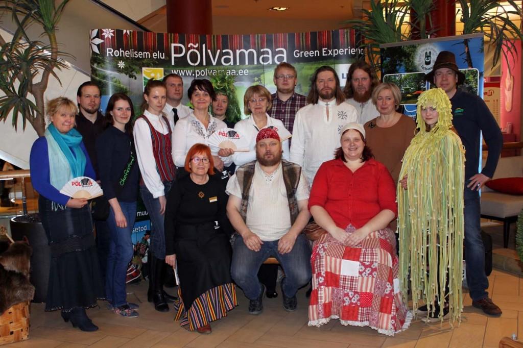 Põlvamaalased Solarises Foto pressisõnumiga