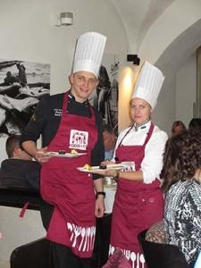 Pühajärve kokad Riias. Foto: FoodArt