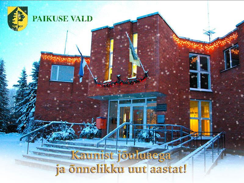 Paikuse vald soovib kaunist jõuluaega ja head uut aastat