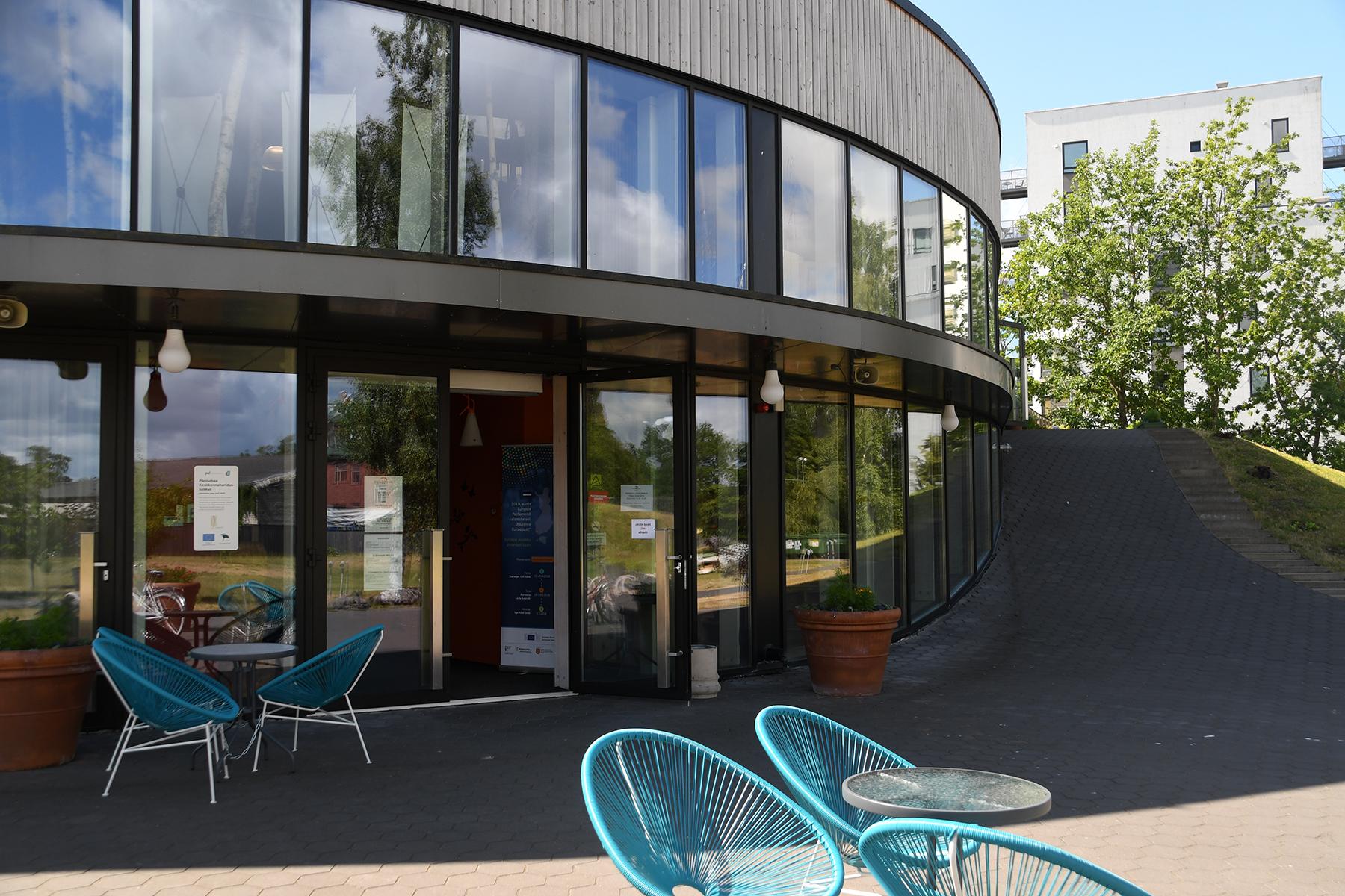 Pernova hariduskeskus Pärnus. Foto: Urmas Saard
