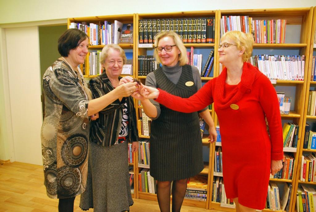 Pildil Anne Pusse, Sirje Ristikivi, Ene Michelis, Rita Raudsepp Foto Urmas Saard