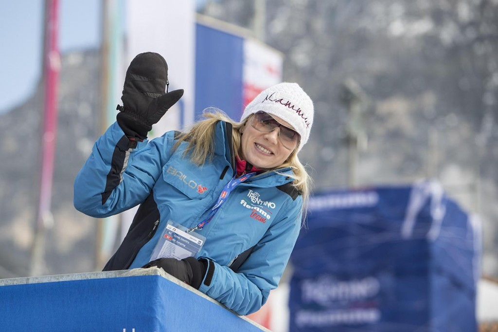 Pildil Kristina Šmigun-Vähi 2013. a põhja suusaalade MM-il Val di Fiemmes. Foto Stanislav Moškov  Õhtuleht  Scanpix