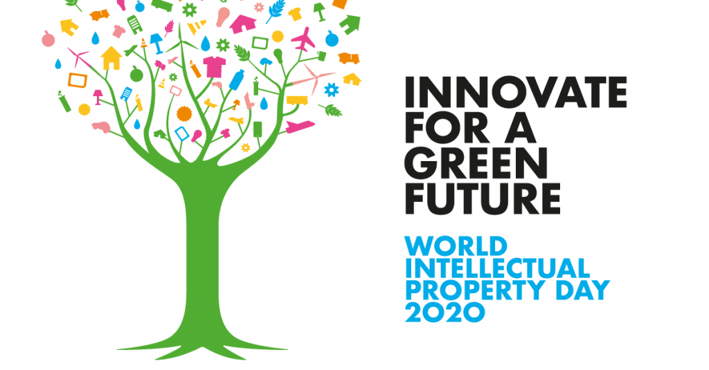 Poster - World Intellectual Property Day 2020, Innovate for a Green Future