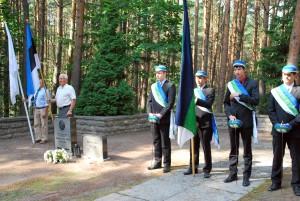 President Pätsi perekonna rahula Tallinna Metsakalmistul Foto Urmas Saard