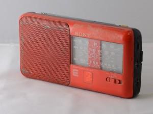 Kogumispäevadele toodud Balti ketis kaasas olnud raadio. Foto,Mai-Reet Uus