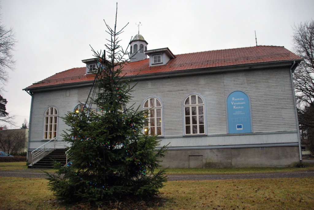 Raeküla vanakooli keskus Foto Urmas Saard
