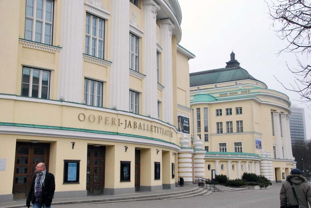 Rahvusoooper Estonia hoone Foto Urmas Saard