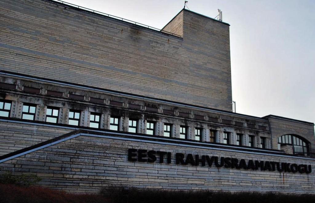 Rahvusraamatukogu  Tallinnas Foto Urmas Saard