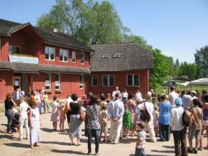 Vanemate Kool toimub Põlva külje all Rosmal. Foto Rosma Haridusselts