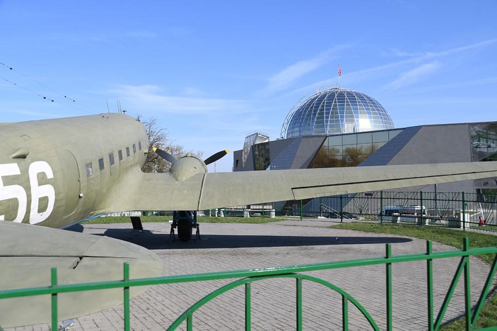 Sõjamuuseum Minskis Foto Urmas Saard