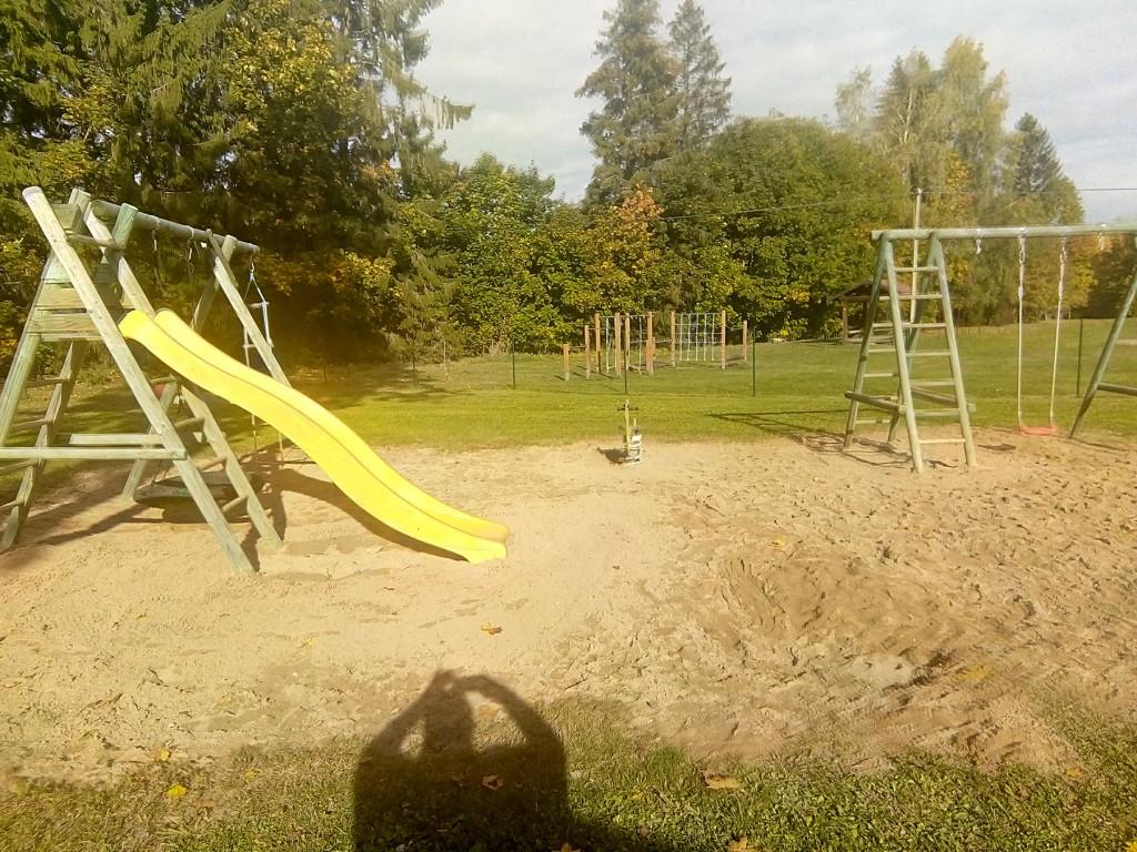 Sadala lasteaia mänguväljak. Foto Jaan Lukas