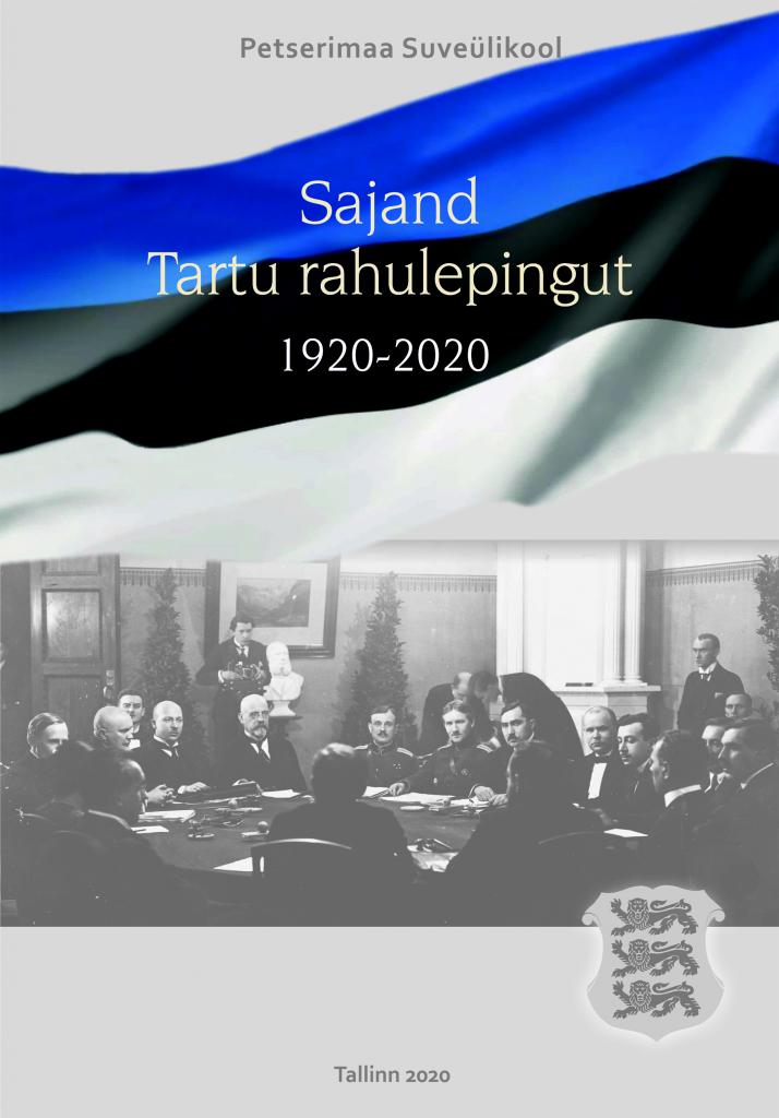 Sajand Tartu rahulepingut 1920-2020 kaanekujundus.
