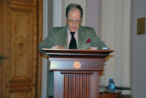 Seppo Zetterberg, Jyväskylä Ülikooli professor Foto Urmas Saard