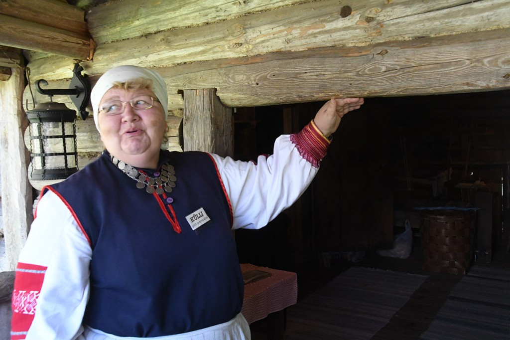 Seto talumuuseumi giid-perenaine Külli Kaur Foto Urmas Saard